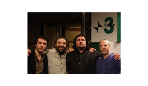 con Bollani, Riondino e Guerrini