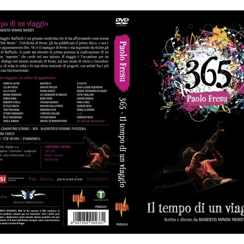 PAOLO FRESU 365 DVD COVER